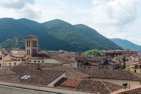 rieti: RIeti (Lazio, Italy), panoramic view of the tiled roofs