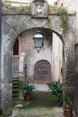 fabrica: Fabrica di Roma (Viterbo, Lazio, Italy): the medieval town, a typical house