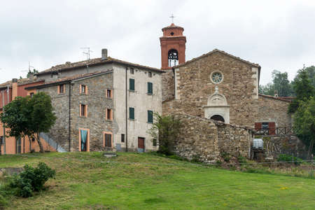 Santa Maria, old village in Montefeltro (Marches, Italy) Stock Photo