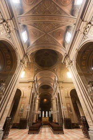 ferrara: Ferrara (Emilia-Romagna, Italy): interior of the medieval cathedral
