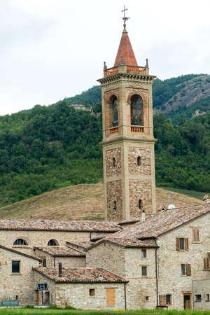 appennino: Pennabilli (Pesaro e Urbino, Marches, Italy), historic church