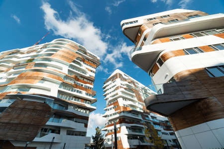 citylife: Citylife, modern residential buildings in Milan (Lombardy, Italy) Editorial