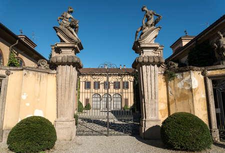 taverna: Canonica al Lambro (Monza e Brianza, Lombardy, Italy): the historic Villa Taverna Stock Photo