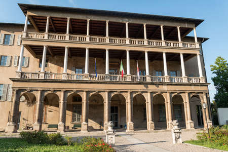 16th century: Milan (Lombardy, Italy): Villa Simonetta, historic palace built in 16th century, nowadays a music school