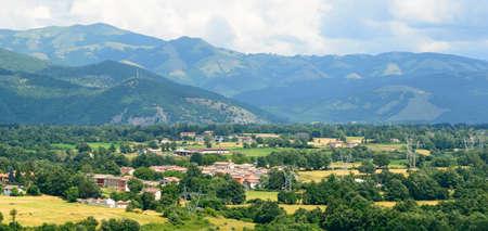 rieti: Old village near Leonessa (Rieti, Lazio, Italy) at summer