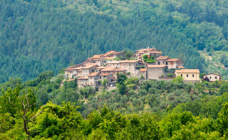 massa: Regnano (Massa e Carrara, Tuscany, Italy), old village in Lunigiana