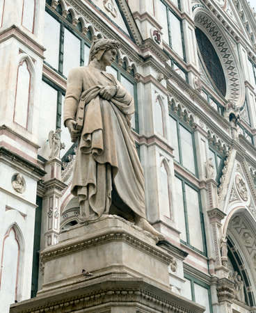 firenze: Florence (Firenze, Tuscany, Italy): medieval church of Santa Croce Stock Photo