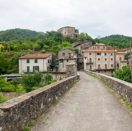 massa: Codiponte (Massa e Carrara, Tuscany, Italy), old village in Lunigiana Stock Photo