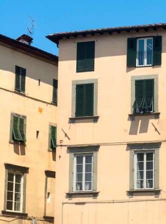 historic buildings: Lucca (Tuscany, Italy), square with historic buildings