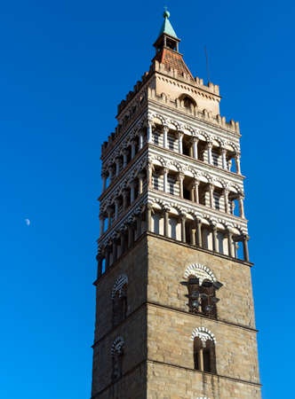 belfry: Pistoia (Tuscany, Italy): belfry of the medieval cathedral