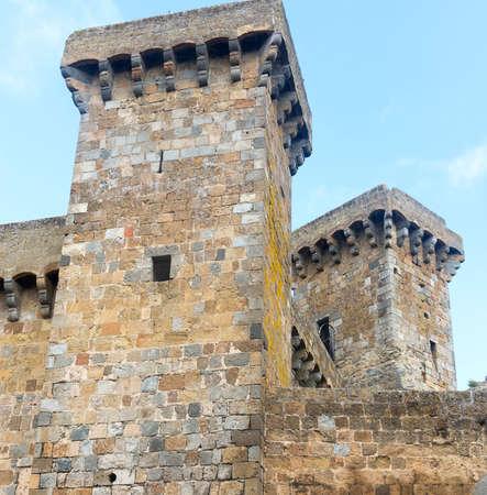 viterbo: Bolsena (Viterbo, Lazio, Italy): the medieval castle