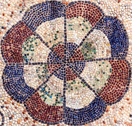 romanesque: Ravenna (Emilia-Romagna, Italy), historic church of San Giovanni Evangelista, in Romanesque style: mosaic