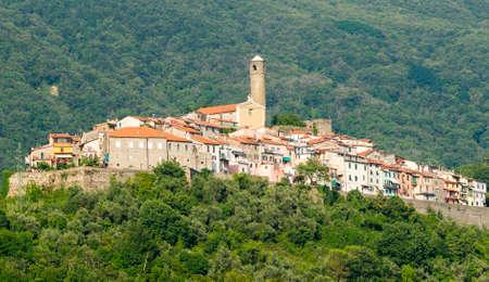 massa: Caprigliola (Massa Carrara, Tuscany, Italy), medieval village Stock Photo