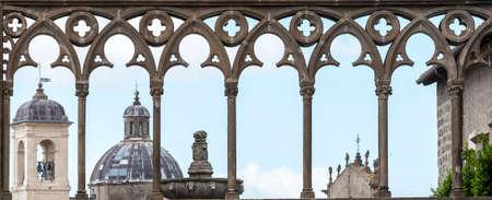 viterbo: Viterbo (Lazio, Italy), the historic Palace of the Popes Editorial