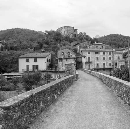 massa: Codiponte (Massa e Carrara, Tuscany, Italy), old village in Lunigiana Editorial