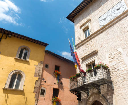 historic buildings: Visso (Macerata, Marches, Italy), historic buildings: palaces