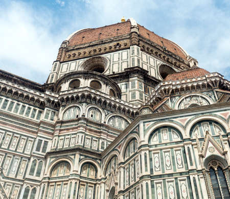 firenze: Florence (Firenze, Tuscany, Italy): the cathedral, dome by Brunelleschi