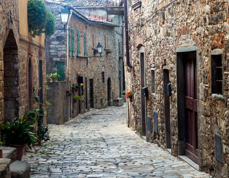 Montefioralle (Greve in Chianti, Florence, Tuscany, Italy): medieval village