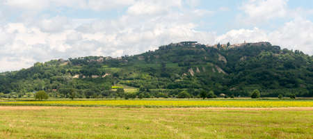 rieti: View of Magliano Sabina (Rieti, Lazio, Italy), historic town, at summer