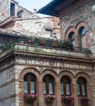 terni: Narni (Terni, Umbria, Italy), medieval city: historic buildings