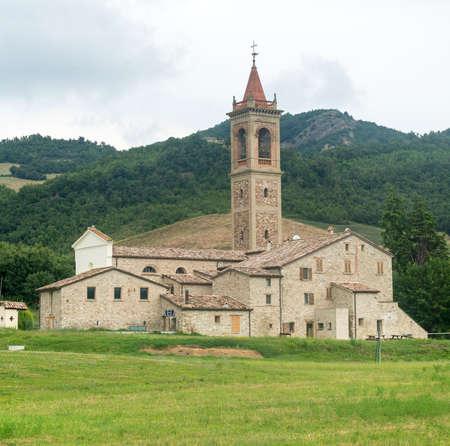 Pennabilli (Pesaro e Urbino, Marches, Italy), historic church
