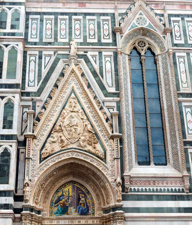 firenze: Florence (Firenze, Tuscany, Italy): the cathedral, a side