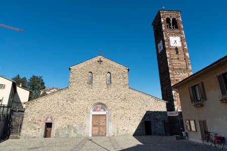 romanesque: Agliate (Brianza, Lombardy, Italy) - Church of San Pietro, in Romanesque style