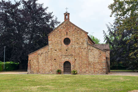 11th: Viguzzolo (Alessandria, Piedmont, Italy): medieval church of Santa Maria, in Romanesque style, built in the 11th century