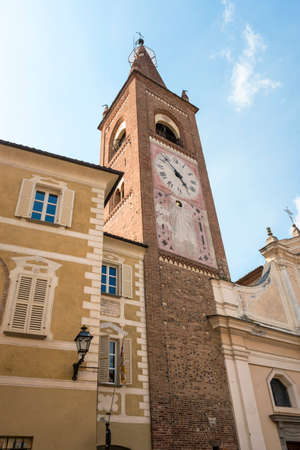 bene: Bene Vagienna (Cuneo, Piedmont, Italy): historic church Stock Photo