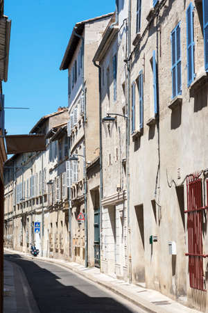 avignon: Avignon (Vaucluse, Provence-Alpes-Cote dAzur, France): a typicl street