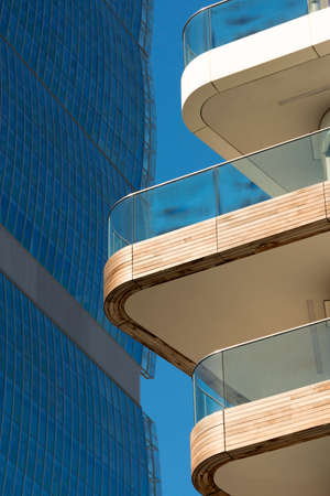 citylife: Modern buildings in Milan (Lombardy, Italy): Citylife Stock Photo