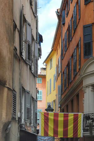 typical: Grasse (Alpes-Maritimes, Provence-Alpes-Cote dAzur, France), old typical street