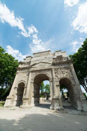 vaucluse: Orange (Vaucluse, Provence-Alpes-Cote dAzur, France): the Roman Arch