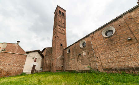 martino: Castellazzo Bormida (Alessandria, Piedmont, Italy): the medieval church of San Martino