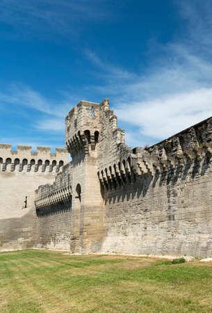 avignon: Avignon (Vaucluse, Provence-Alpes-Cote dAzur, France): the medieval walls Editorial