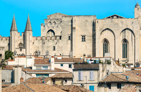 avignon: Avignon (Vaucluse, Provence-Alpes-Cote dAzur, France): the medieval city with the Palace of the Popes