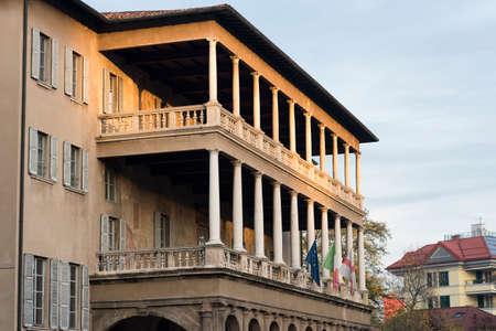 16th: Milan (Lombardy, Italy): Villa Simonetta, historic palace built in 16th century, nowadays a music school