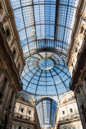 vittorio: Milan (Lombardy, Italy): the Gallery Vittorio Emanuele II, a covered public place built in 1865-1877 Editorial