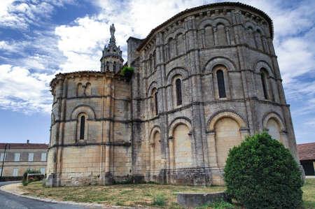 aquitaine: Medieval church of Notre-Dame de Bayon, in Bayon-sur-Gironde (Gironde, Aquitaine, France)
