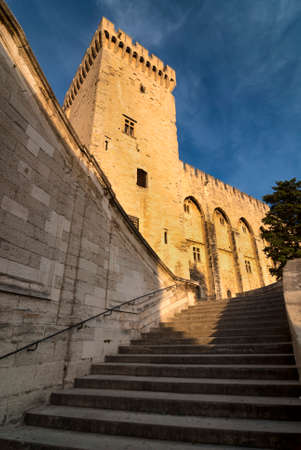 vaucluse: Avignon (Vaucluse, Provence-Alpes-Cote dAzur, France): Palace of the Popes Editorial