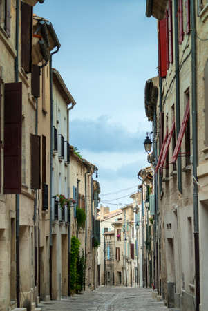 roussillon: Uzes (Languedoc- Roussillon, France) - Historic typical street