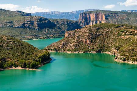 catalunya: Noguera (Catalunya, Spain): the river at summer