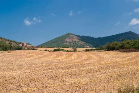 catalunya: Historic farm in Catalunya (Spain) at summer