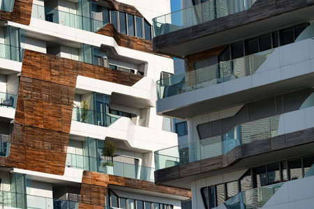 citylife: Milan (Lombardy, Italy): Citylife, modern residential buildings