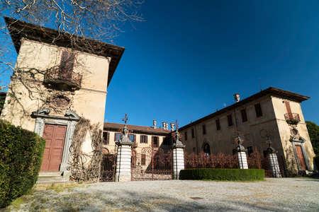 monza: Historic villa in Brianza near Tregasio (Monza, Lombardy, Italy)