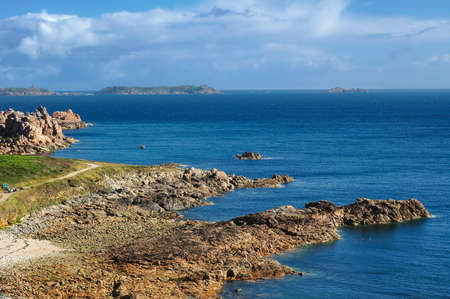 ploumanach: Ploumanach (Cotes-dArmor, Brittany, France): the coast on the Atlantic ocean at summer