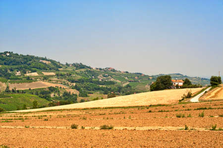 appennino: Landscape of the hills of Romagna (Italy) at summer
