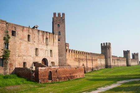 veneto: Montagnana (Padua, Veneto, Italy) - The medieval walls