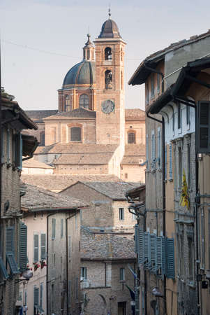 nb: Urbino (Marches, Italy): historic building of the Renaissance era