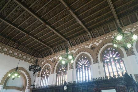 mancha: Toledo (Castilla-La Mancha, Spain): interior of the historic railway station